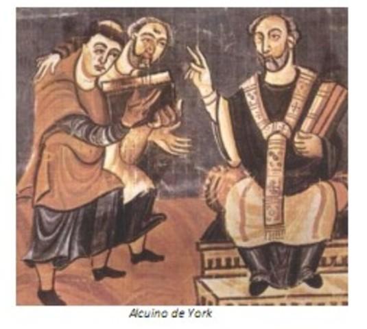 Estudios del latín Alcuino de York