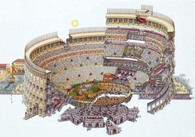 Inicia la construcción del Coliseo