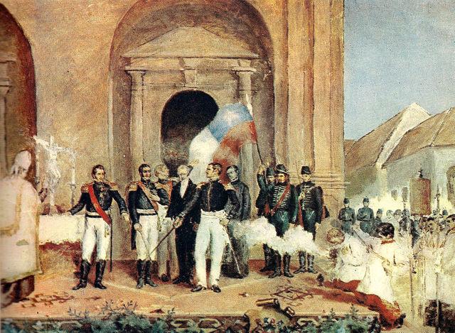 Después de varias victorias sobre las tropas españolas.