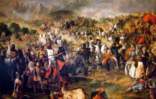 La expedición española de reconquista