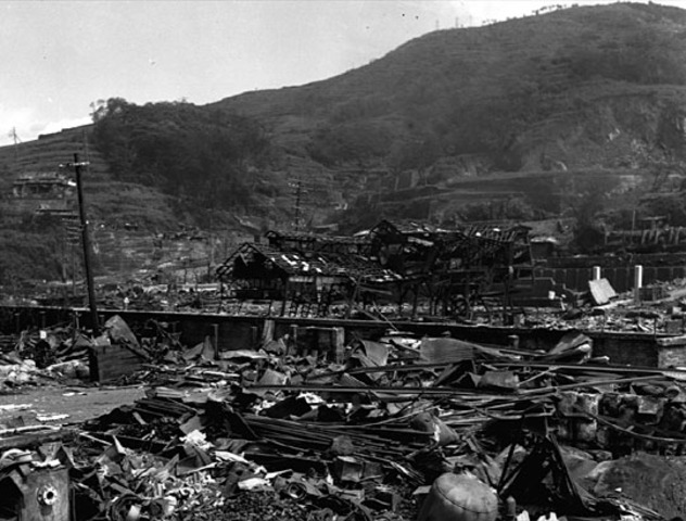 Atomic Bomb dropped on Nagasak