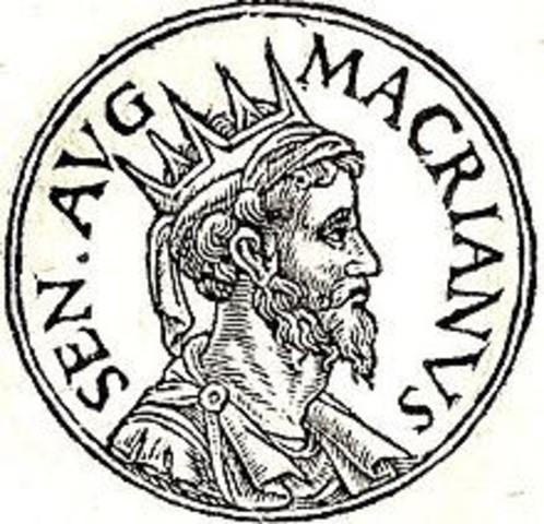 Valentiniano I firma la paz con Macriano, rey de los alamanes