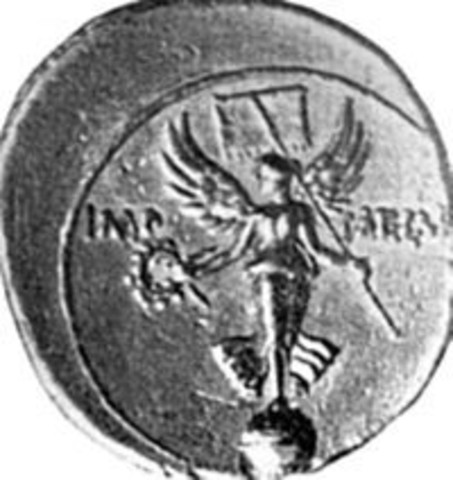 Graciano ordena quitar el Altar de la Victoria