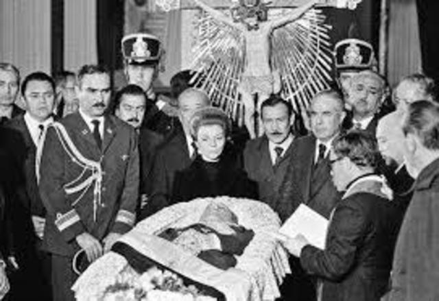 Muerte de Perón