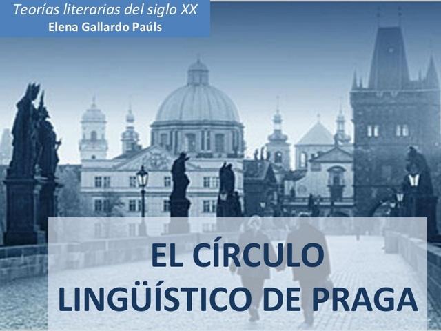 Estructuralismo europeo Escuela de Praga