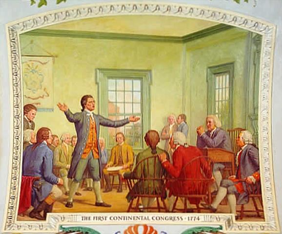 First Continental Congress, 1774