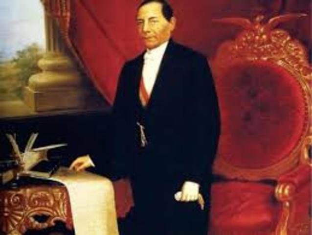 Benito Juárez  presidente constitucional