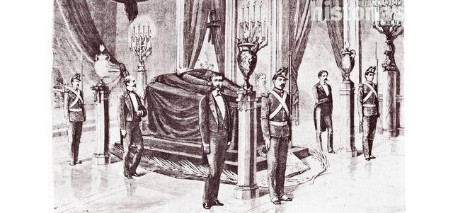 Fallece Benito Juárez