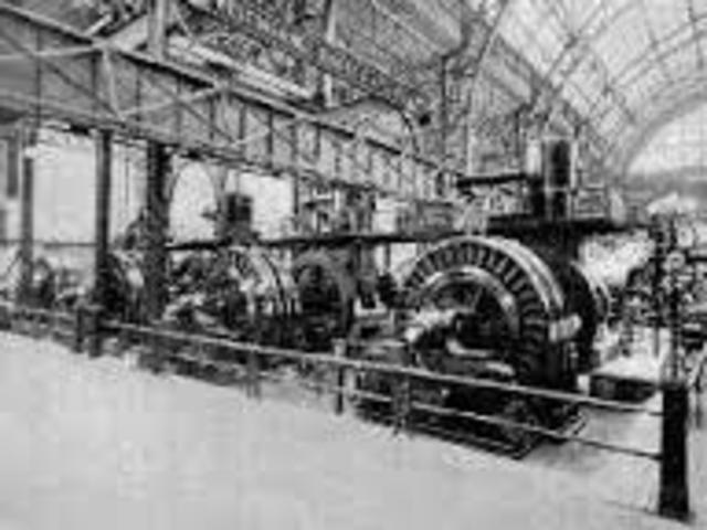 Primera planta de energía