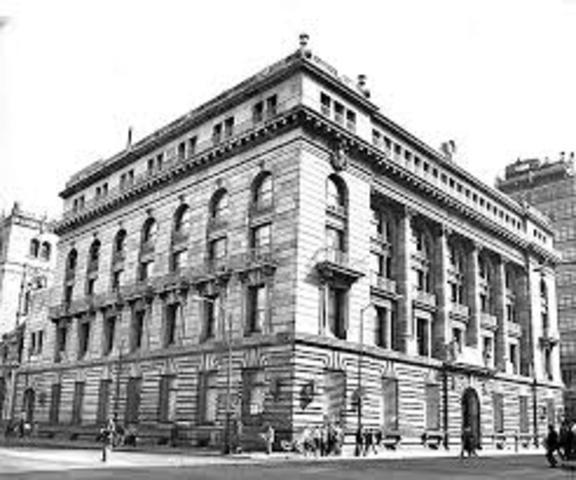 Fundación del Banco Nacional Mexicano