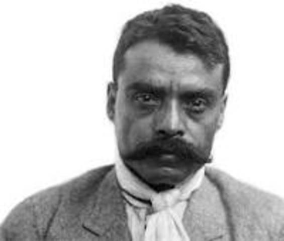 Nace Emiliano Zapata