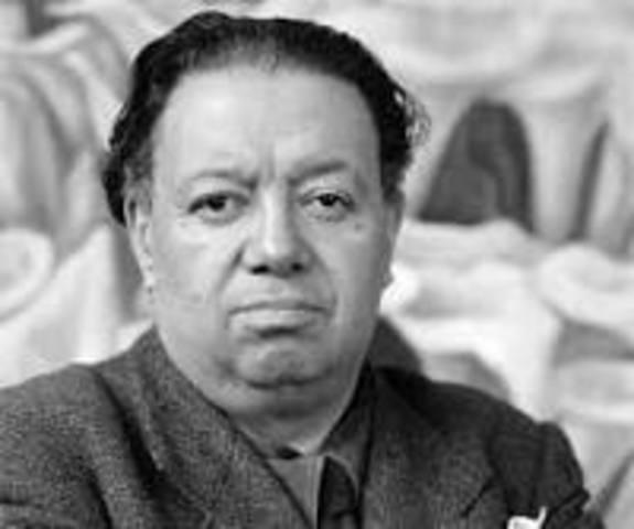 Nace Diego Rivera