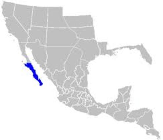 Baja California dividido