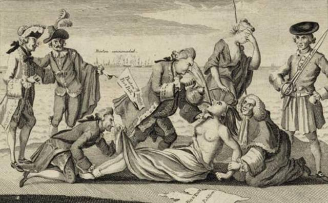 Intolerable Acts, 1774