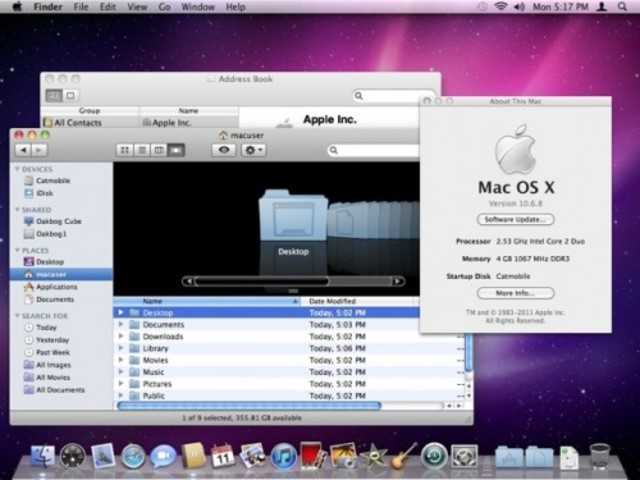 "2009: Mac OS X 10.6 ""Snow Leopard"""