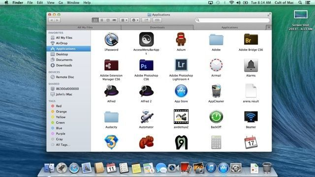 2013: Mac OS X 10.9 Mavericks