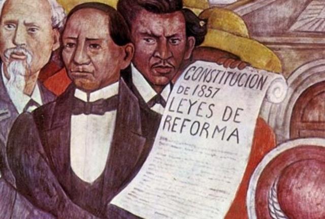 Establecimiento de las leyes de Reforma