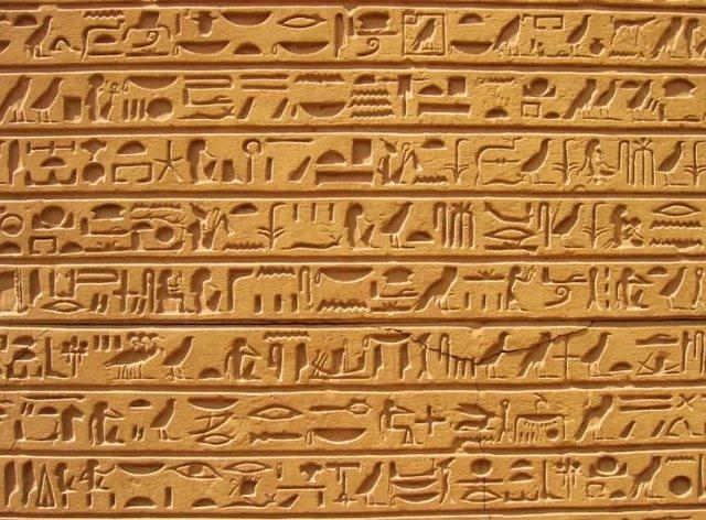 Египетская письменность √