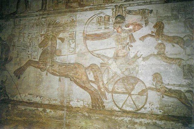 Гиксы и их поселение около Египта