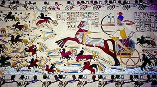 Зависимость Египта от Гиксов √