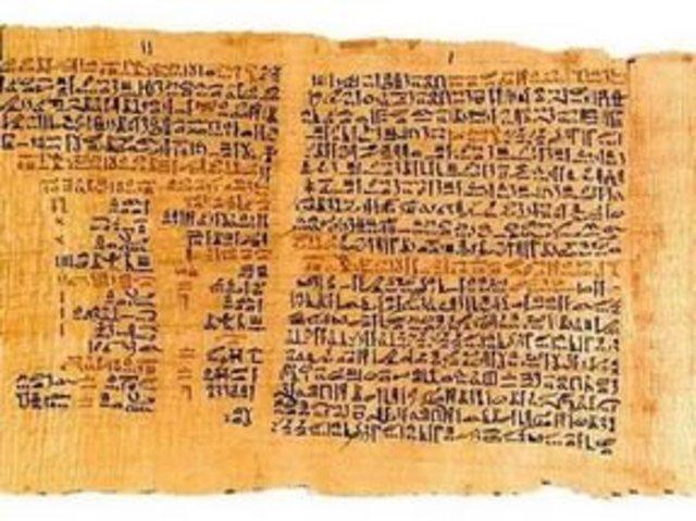 составлен «папирус Эберса»