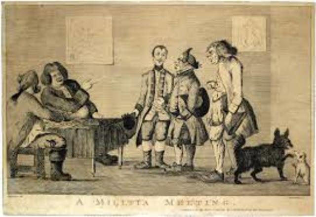 Committees of Correspondence, 1772
