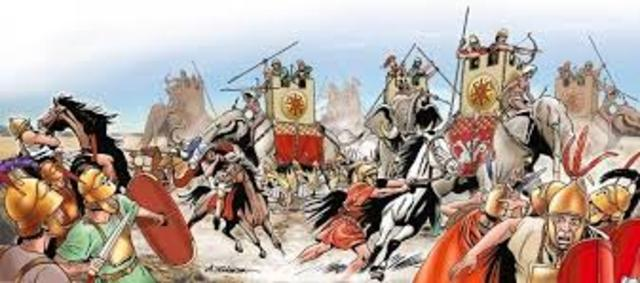 Roma domina toda la península Itálica.