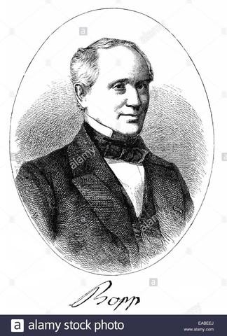 Franz Bopp (1791-1867)
