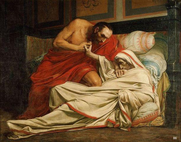 Muerte de Vespasiano