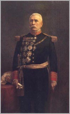 Triunfo de Porfirio Díaz