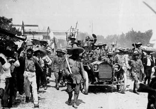 Concluye la Revolución Mexicana