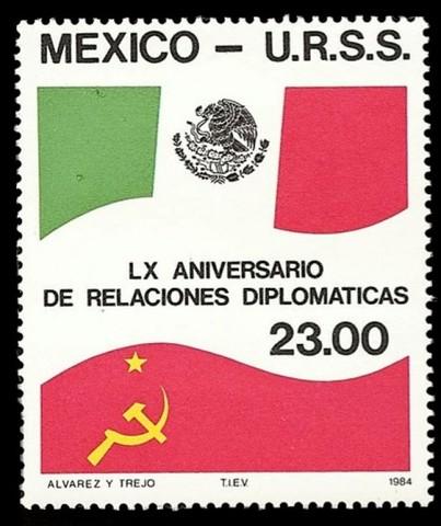 México y la URSS