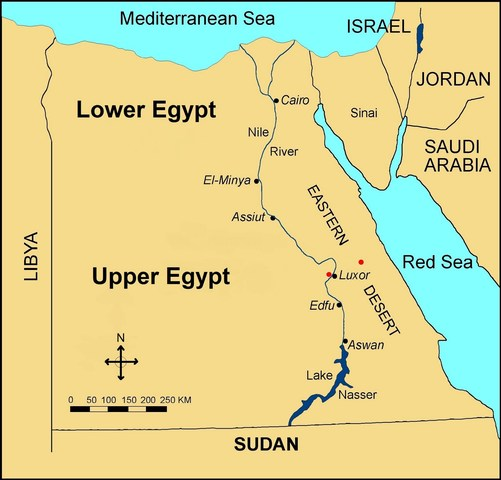 4.1: Egypt: Unification of Upper and Lower Egypt