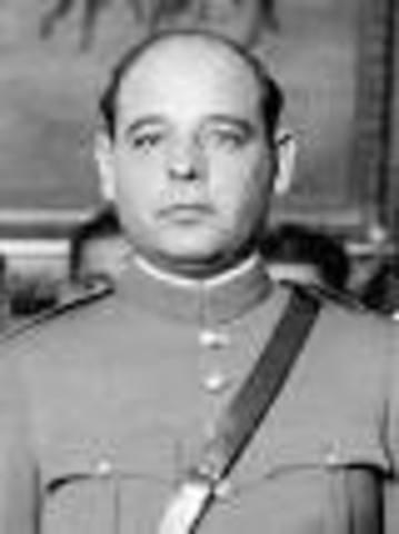Abelardo L. Rodríguez como presidente interino.