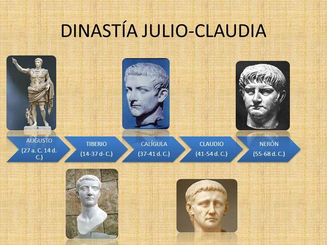 Dinastía de los Julios-Claudios