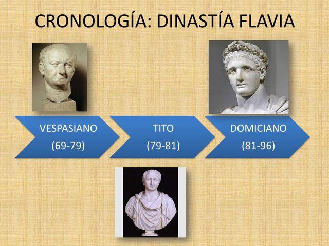 Dinastía de los Flavios