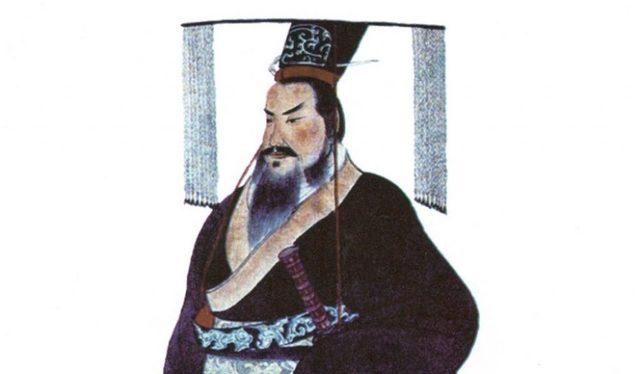 emperador Qin Shi Huang ordena quemar todos los libros fuera del estado de Qin