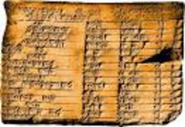 La tablilla Plimpton 322 y las ternas pitagóricas