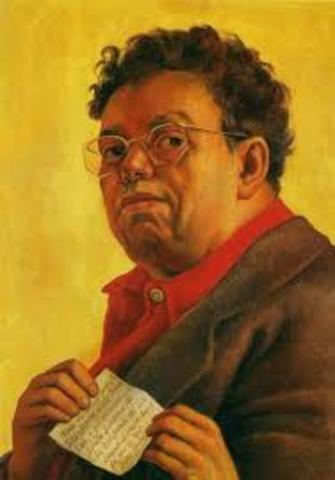 Nace en Guanajuato Diego Rivera