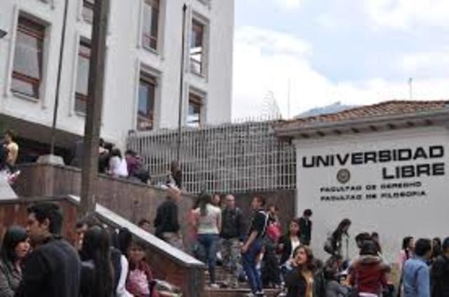 creación de la universidad libre