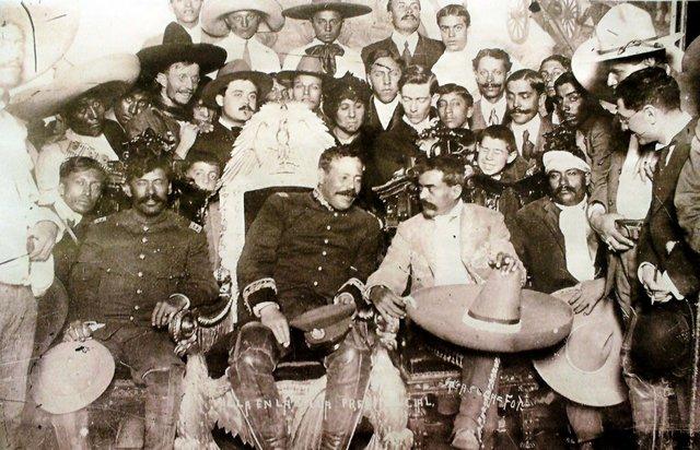 entrada de zapatistas y villistas a la CDMX