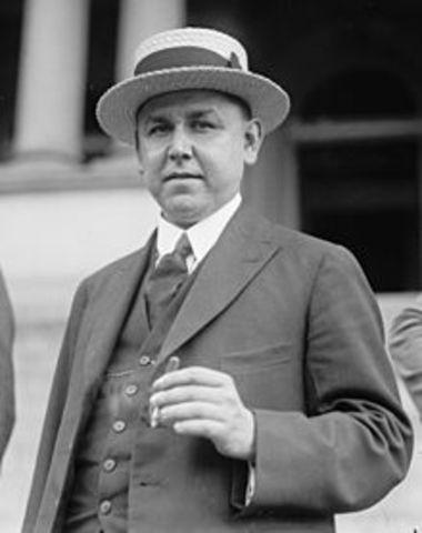 Presidencia temporal de Adolfo de la Huerta