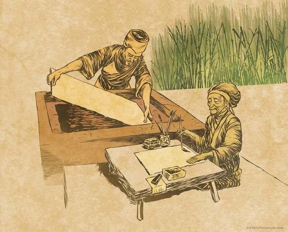 Invención del Papel (China)