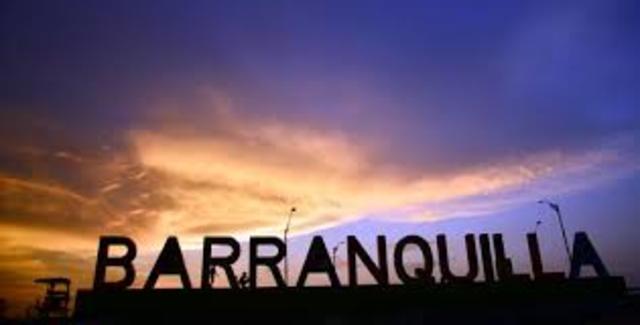LÍNEA DEL TIEMPO: BARRANQUILLA