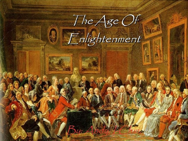 The Enlightenment Starts