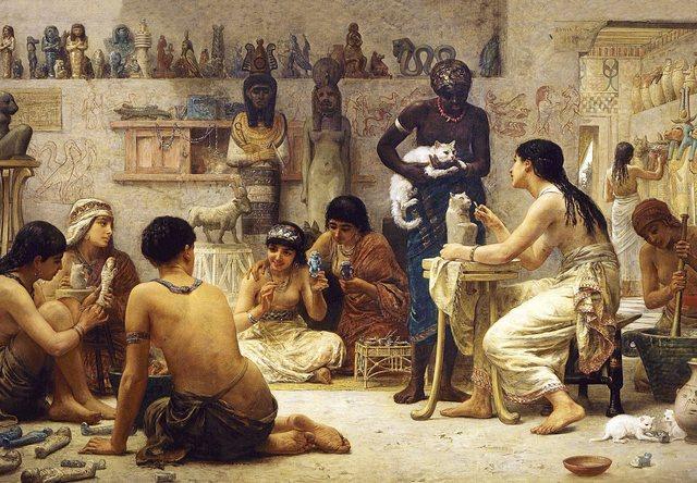 Edad Antigua - Egipto (Aprox. 4000 a.C).