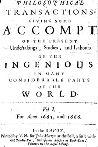 Walter Pope (1665).