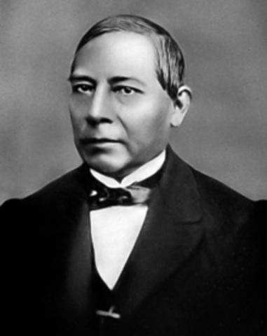 LA PRESIDENCIA DE BENITO JUAREZ