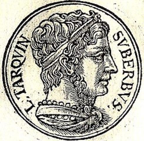TARQUINO EL SOBERBIO -  SÉPTIMO Y ÚLTIMO REY (534 a. C.-c. 509 a. C.)
