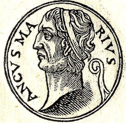 ANCO MARCIO - CUARTO REY (c. 641-617 a.C.)